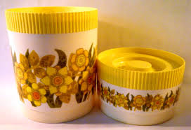 Yellow Canister Sets Kitchen Accessories Charming Yellow Tupperware Canisters Kitchen Set