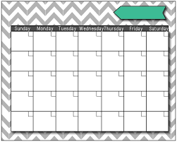 Printable Fill In Calendar Blank Fill In Calendar Get Free
