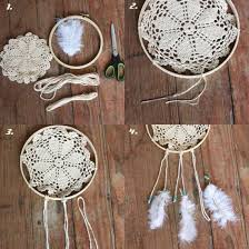 Making Dream Catchers Supplies Doily Dream Catchers The Best Collection Of Ideas The WHOot 14
