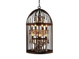 full size of bronze cage light chandelier 4 diy bird for the conservatory design ideas lighting
