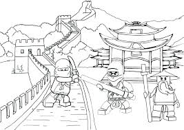 Coloring Pages Lego Ninja Coloring Pages Ninjago Movie Lloyd Lego