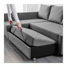 friheten corner sofa bed with storage skiftebo dark grey ikea Pull