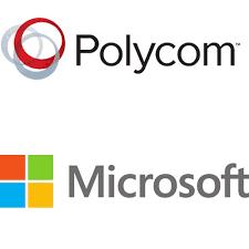 polycom microsoft logo