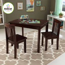 table 2 chairs. kidkraft round storage table \u0026 2 chair set - natural white walmart.com chairs o