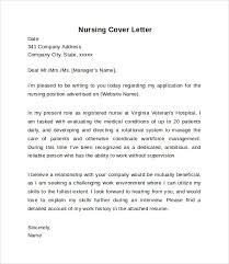 Pediatric Nurse Cover Letter Adorable Job Cover Letter Nursing