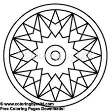 Zen Mandala Coloring Page 668 Coloring By Miki