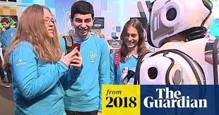 'Hi-tech robot' at Russia forum turns out to be man in <b>suit</b>   Russia ...
