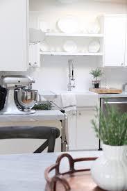 Remodelaholic Kitchen Mini Makeover with Affordable Tiled DIY