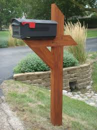 mailbox post. Picture Mailbox Post