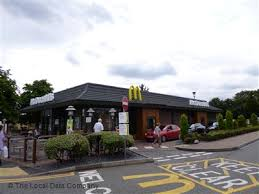 mcdonald s on bath road fast food takeaway in town centre slough