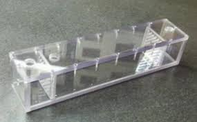 Polycarbonate sheet fabricated box