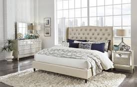 modern bedroom sets. Euclid II Queen Size Bed 439.00 Modern Tufted Headboard Platform In Champagne Bedroom Sets G
