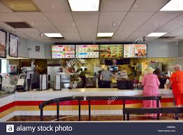 inside fast food restaurants. Contemporary Fast Inside American Burger King Fast Food Restaurant Fort Myers Florida   Stock Image Intended Fast Food Restaurants