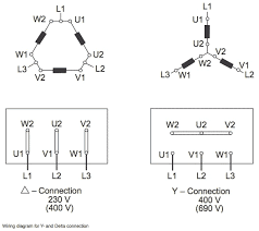 delta wye motor connection diagram e motors delta wye motor connection diagram