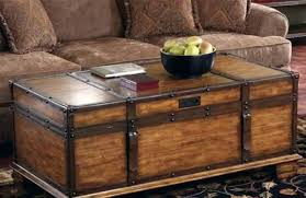 trunk coffee table image of wooden with lift top havertys southport full size