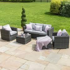 rattan garden furniture grey georgia 3