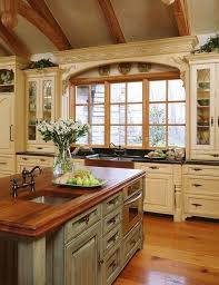 rustic french country kitchens. Beautiful Kitchens French Country Kitchen Pictures White Wooden Island Rustic Throughout Kitchens O