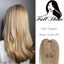 Full Shine Color Chart Lace Wig Toppers Hand Made Lace Base Hairpiece For Women Highlights Color 27 613 Blonde