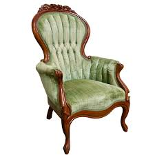 Inez Light Olive Vintage Chair