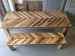 barn wood kitchen table