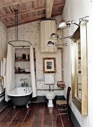 rustic bathroom shower ideas. cool shower room ideas with white curtain and modern track lighting for rustic bathroom design t
