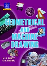 geometrical and machine drawing book