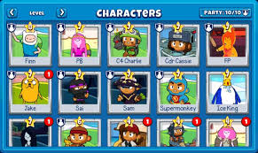 That way you can identify characters based on that. The Best Characters And Weapons To Use In Battd Bloons Adventure Time Td Guide Basically Average
