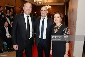 Rich Cline, Stanley Tucci and Hilary Oliver attend The London... News Photo  - Getty Images