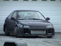 1994 Honda Civic Ex Turbo 1/4 mile trap speeds 0-60 - DragTimes.com