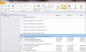 Outlook Tasks Gantt Chart Easyprojectplan Screenshots Excel Gantt Chart Template
