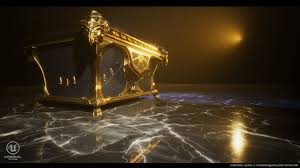 ArtStation - Golden Chest, Fernando Quinn