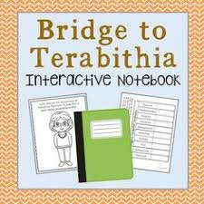 a wrinkle in time novel unit study interactive notebook and  bridge to terabithia interactive notebook novel study low prep and stress