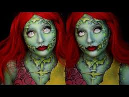 radioactive sally nightmare before makeup tutorial you