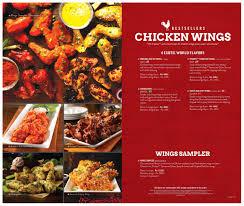 tgi fridays menu