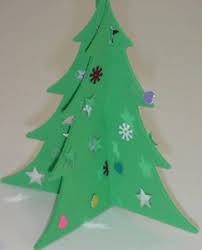 Ruffled Foam Sheets U0026 Glitter Christmas Tree Cones DIY  Foam Foam Christmas Tree Crafts