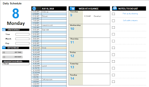 daily work schedule templates daily work schedule template schedule templates