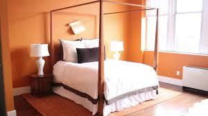 Orange Color Bedroom Walls Help With Decorating A Room With Warm Orange Walls Design
