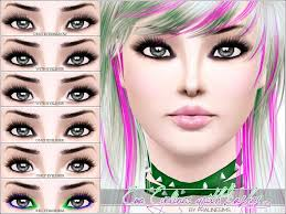 pralinesims emo eyeliner with lashes