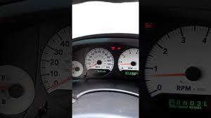 Dodge Caravan Dash Lights Flicker 2005 Dodge Grand Caravan Lights Flickering Youtube