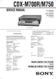 sony cdx 3183 service manual schematics eeprom sony