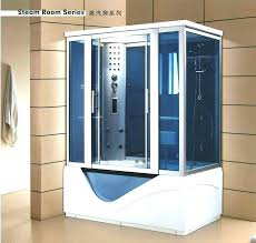 steam shower bath combo shower steam shower enclosure w whirlpool bathtub combo unit