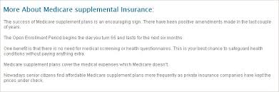 Based in oklahoma, old surety life insurance company deals in insurance products. Conseco Medicare Supplemental Insurance