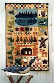 loon-family-wall | Quilting | Pinterest | Family wall, Panel ... & Country Threads :: Pieced and Appliqued Quilt Patterns :: Loon Lake Adamdwight.com