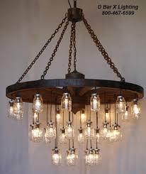 wagon wheel lighting fixtures. chandelier rustic wagon wheel light fixture with hanging mason jar lights ww755 lighting fixtures o