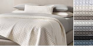 Quilts & Coverlets | RH & Silk Box-Stitch Coverlet & Sham Free Shipping Adamdwight.com