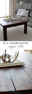 learn how to build this rustic wood farmhouse coffee table at lovegrowswild com