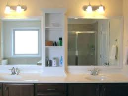 bathroom vanity mirror lights. Large Mirror With Lights Bathroom Vanity Splendid  Size .
