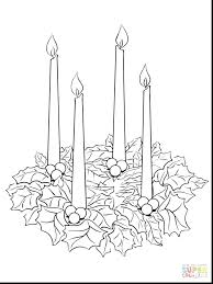 Advent Wreath Coloring Pages Printable 2 G To Print 10