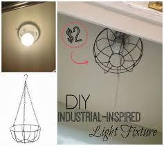 homemade lighting fixtures. Lovely DIY Lighting Fixtures 20 Diy Ideas Light Lamps And More Homemade