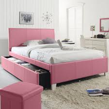 furniture white wooden bed frame with storage drawers and head upholostered kids bedroom ideas bedroom queen sets kids twin
